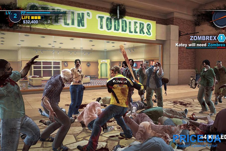 Лучшие 9 видеоигр про зомби. Dead Rising