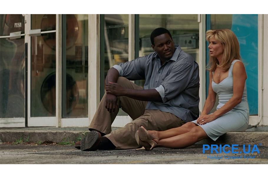 """Добрейшие фильмы для всей семьи.  """"Невидимая сторона"""", 2009"""