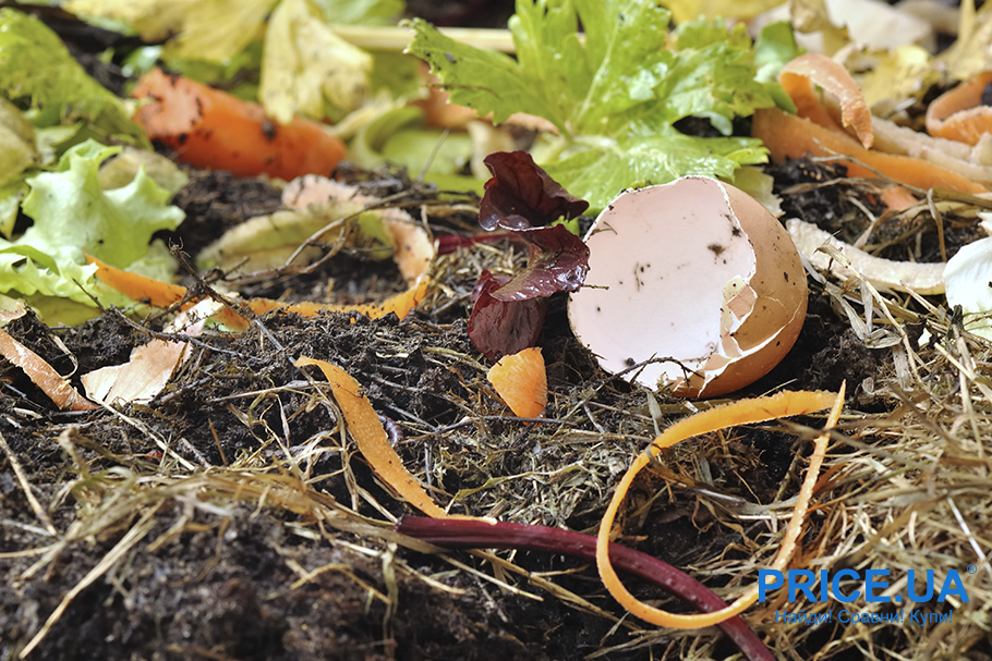 Удобрение земли: компост