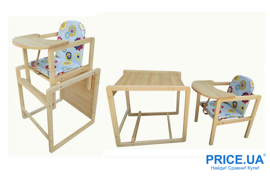 Как выбрать безопасный стульчик для кормления: трансформеры