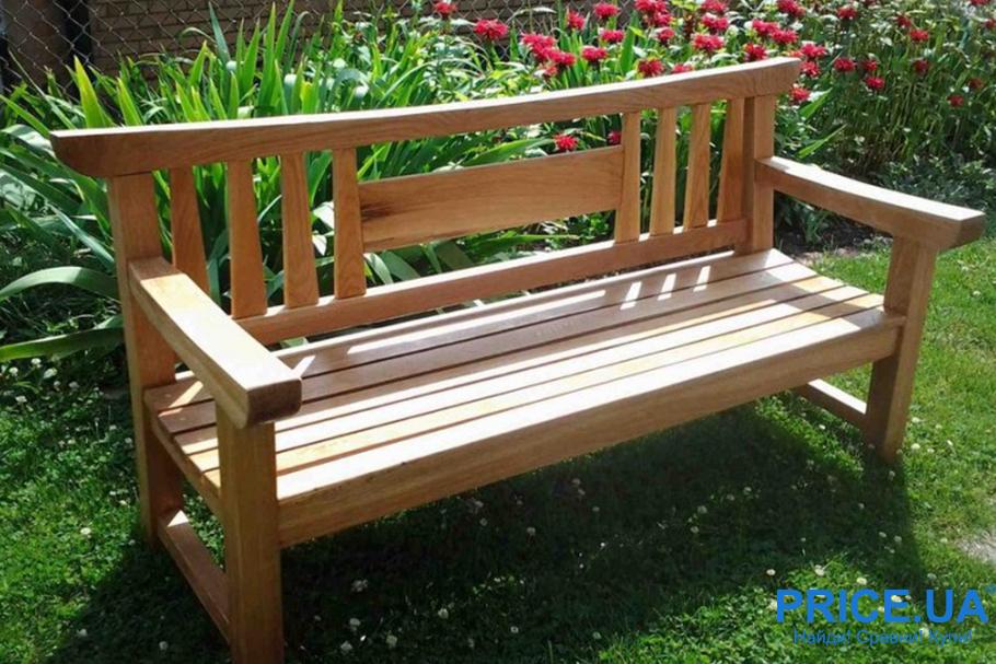 Скамейка для дачи своими руками: из старой мебели