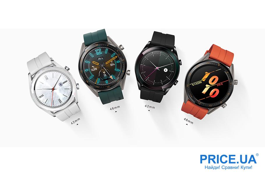Топ-6 смартчасов. Huawei Watch GT