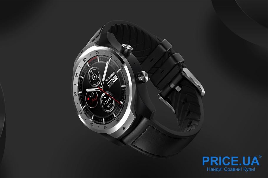 Топ-6 смартчасов. Mobvoi Ticwatch Pro