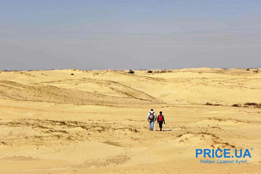 Вдали от цивилизации: топ диких мест. Алешковские пески