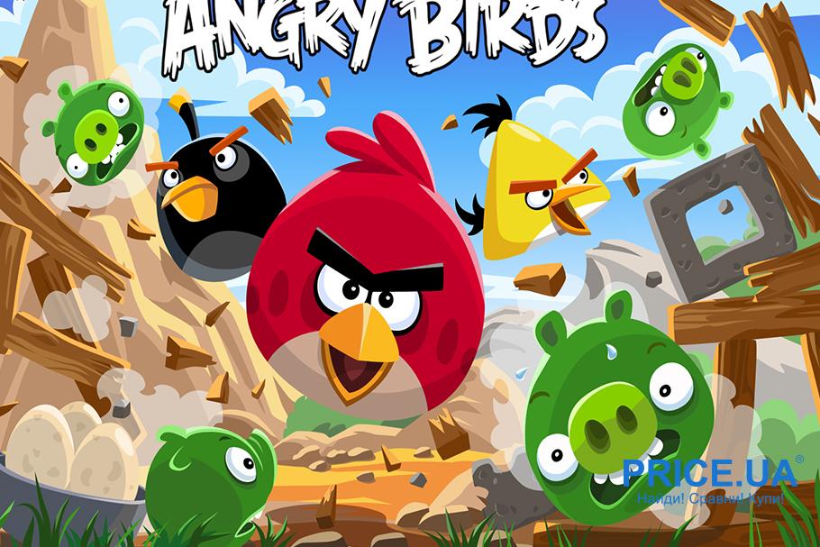 Топ игр для Android. Angry Birds от Rovio