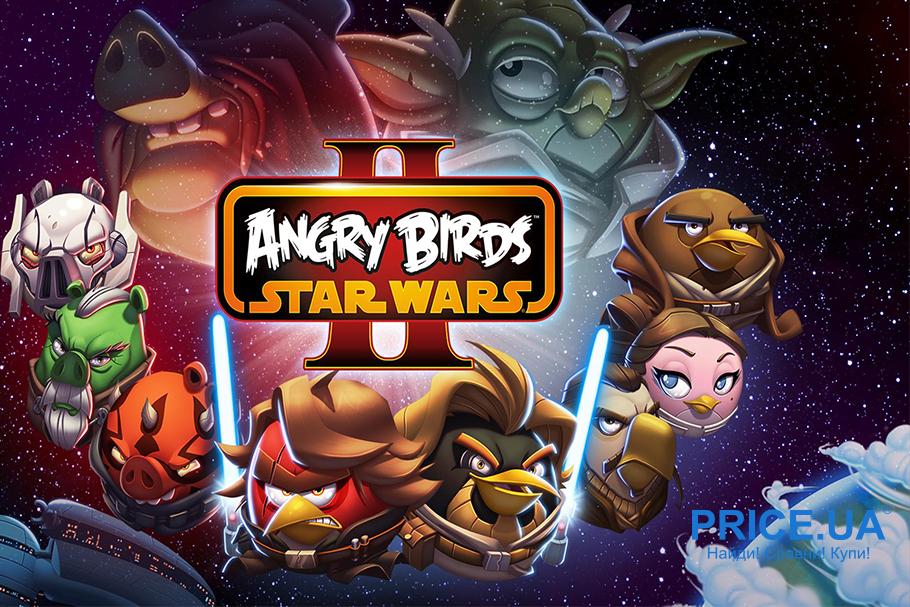 Топ игр для Android. Angry Birds Star Wars