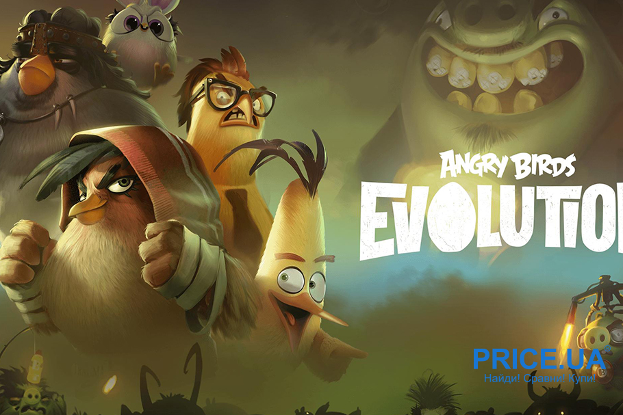 Топ игр для Android. Angry Birds Evolution