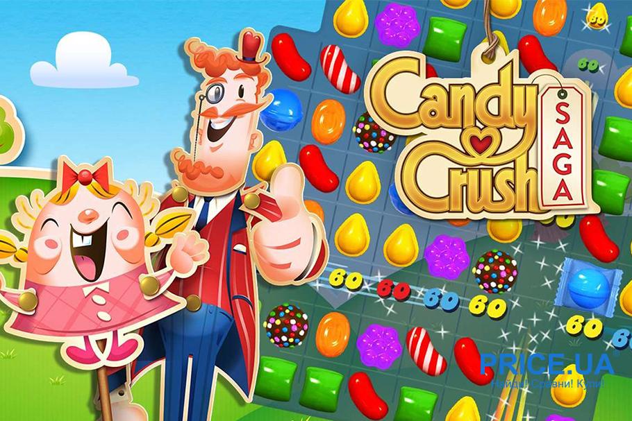 Топ игр для Android. Candy Crush от King