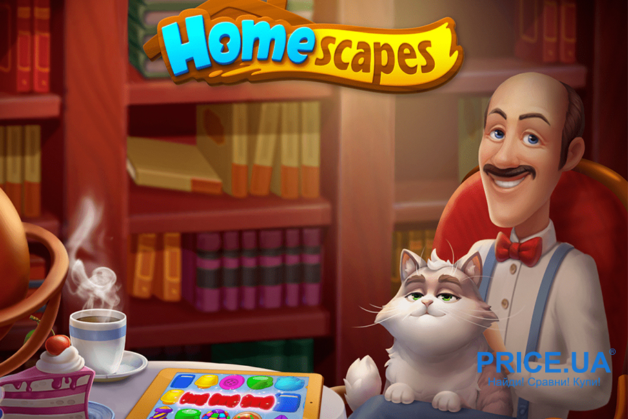 Топ игр для Android. Homescapes