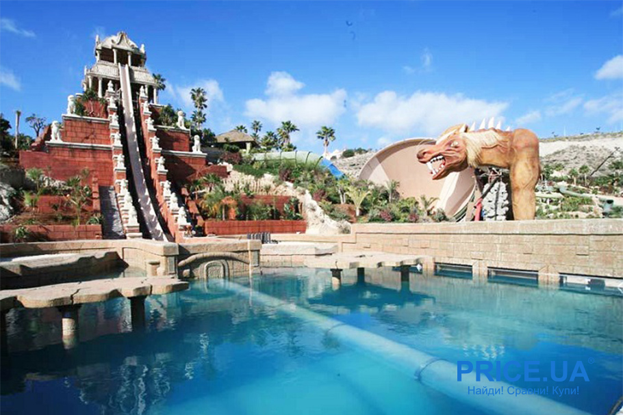 Десятка лучших аквапарков по всему миру и не только. Siam Park, Тенерифе, Испания