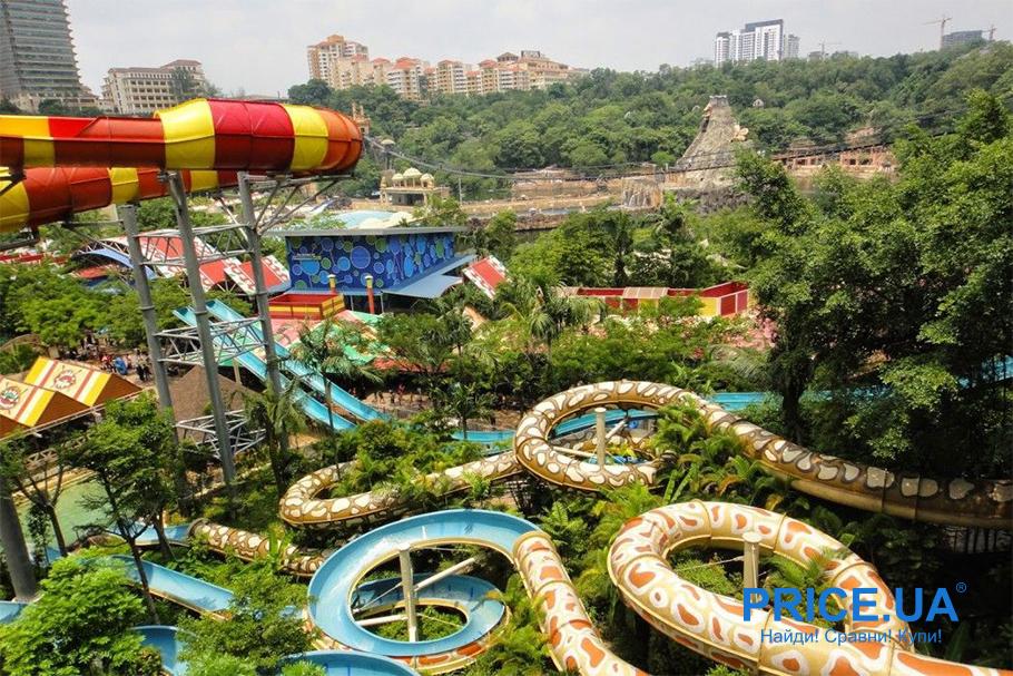Десятка лучших аквапарков по всему миру и не только. Sunway Lagoon, Куала-Лумпур, Малайзия
