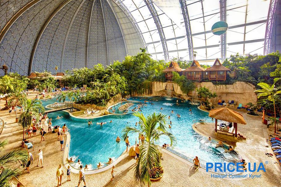 Десятка лучших аквапарков по всему миру и не только. Tropical Islands, Краусник, Германия