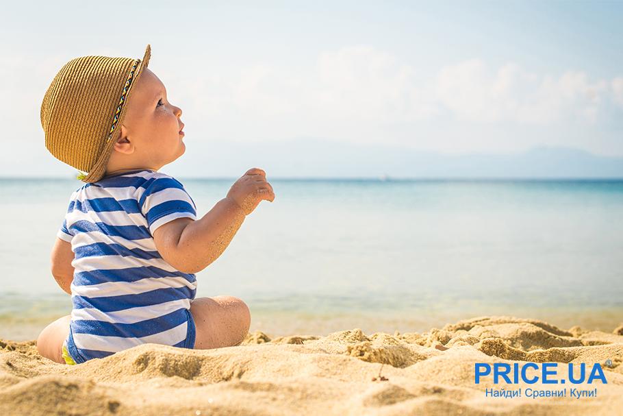 На море с младенцем: что нужно учесть? Выбор одежды