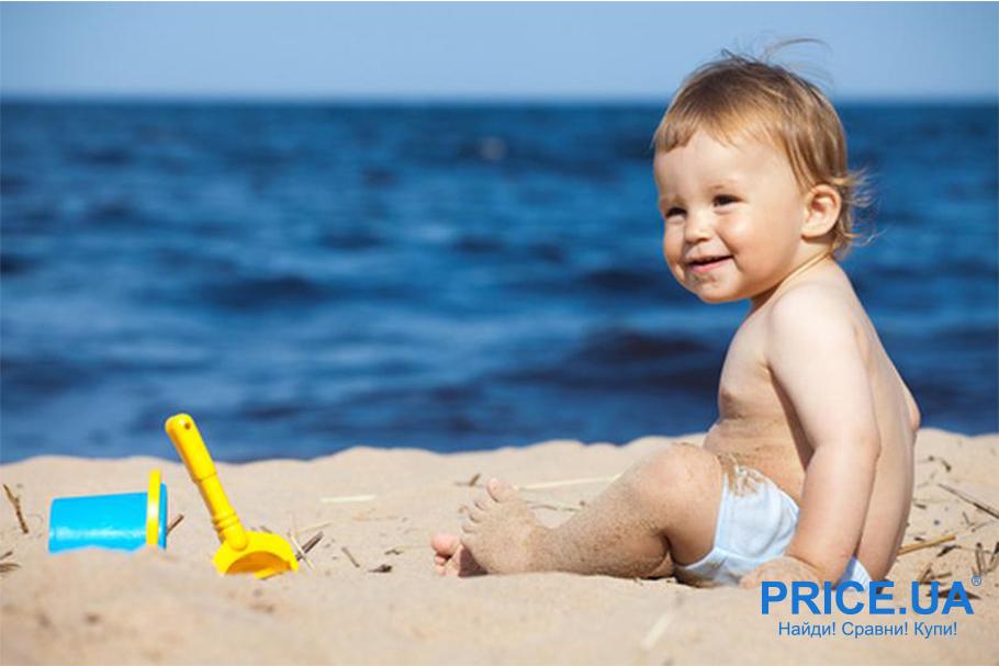 На море с младенцем: что нужно учесть? Игрушки для пляжных развлечений