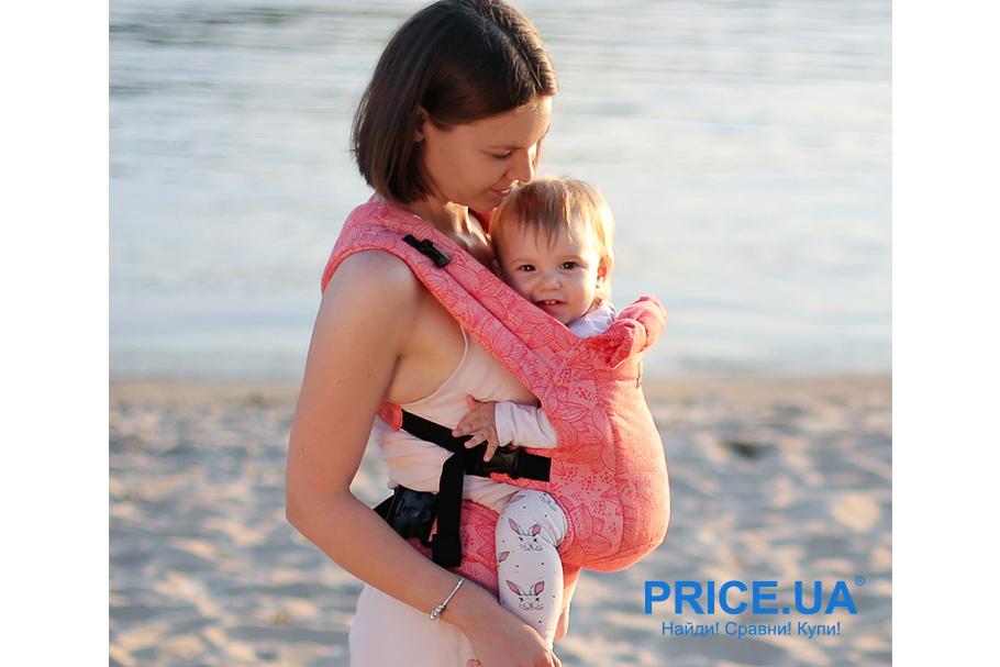 На море с младенцем: что нужно учесть? Рюкзак-кенгуру