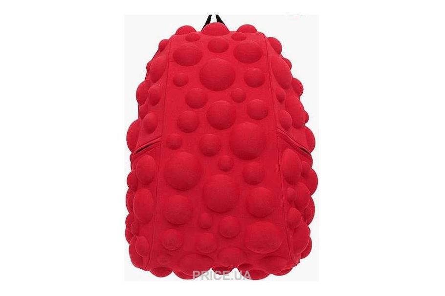 Лучшие модели рюказаков для школы. MadPax Bubble Full Neon Red