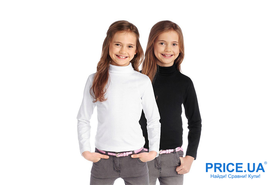 Одежда для школьника: что выбрать? Водолазки