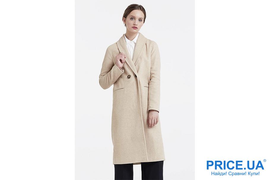 Осень 2017:топ курток и пальто. Молочный цвет