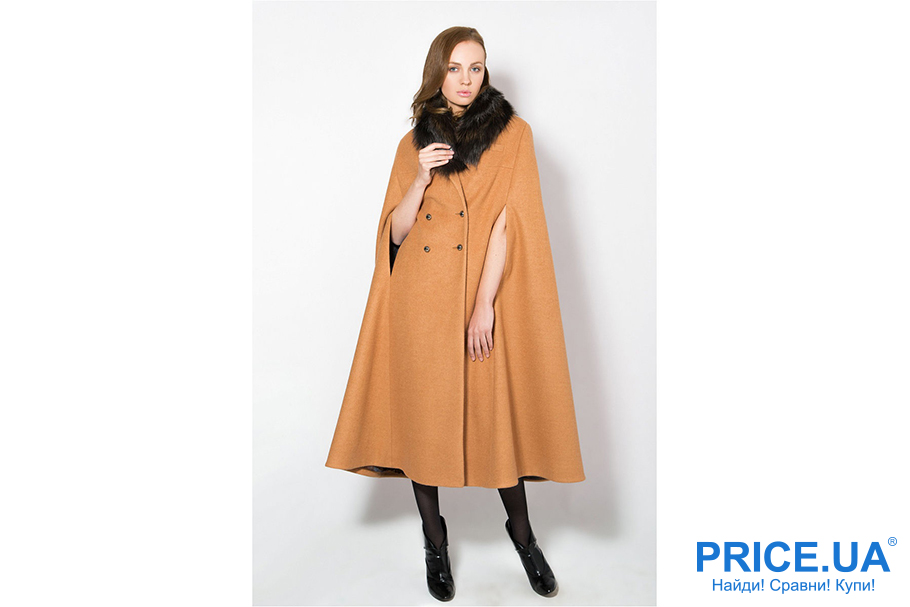 Осень 2017:топ курток и пальто. Пальто-кейп