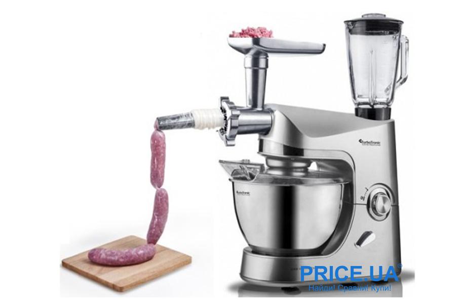 Как правильно выбрать кухонный комбайн? Насадки для мяса