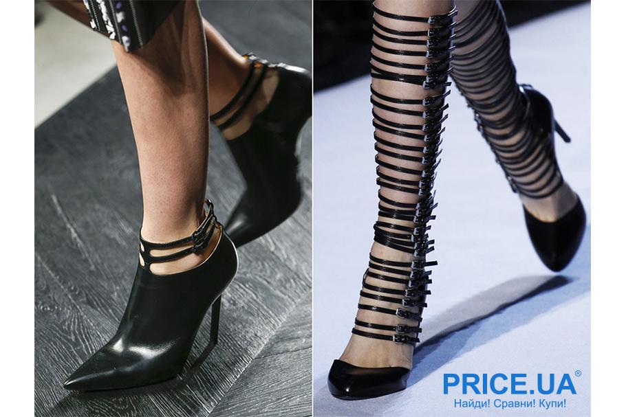 Что модно из обуви этой осенью? Ремешки