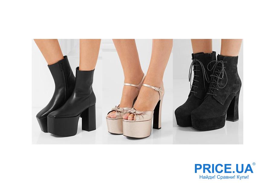 Что модно из обуви этой осенью? Платформа