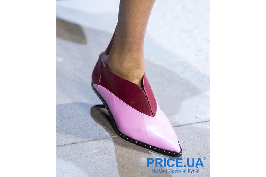 Что модно из обуви этой осенью? V-образный вырез