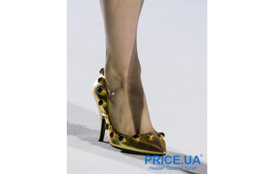 Что модно из обуви этой осенью? Под металл