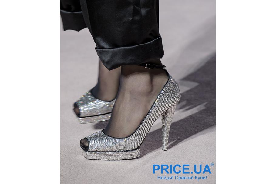 Что модно из обуви этой осенью? Стразы