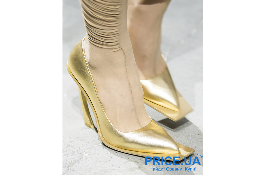 Что модно из обуви этой осенью? Экстравагантность
