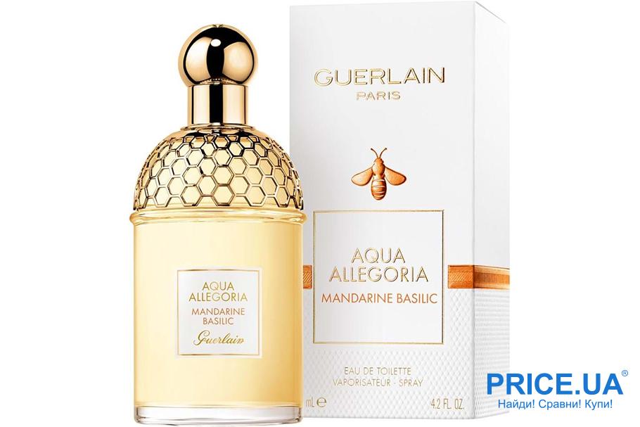 Самые модные ароматы осени 2019. Guerlain Aqua Allegoria Mandarine Basilic