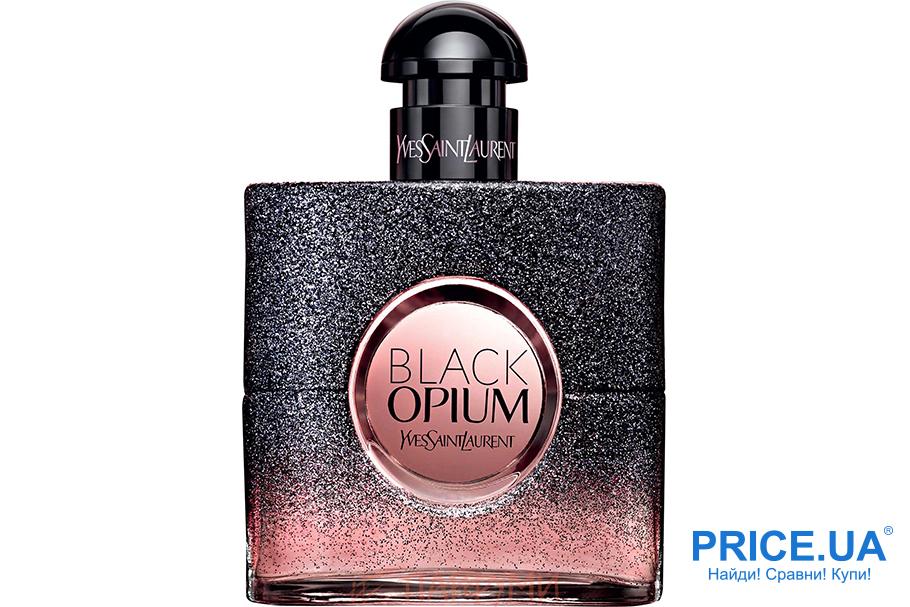 Самые модные ароматы осени 2019. Yves Saint Laurent Black Opium Floral Shock