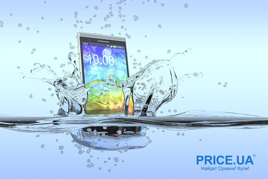 Окунули смартфон в воду - как спасать девайс? Алгоритм действий
