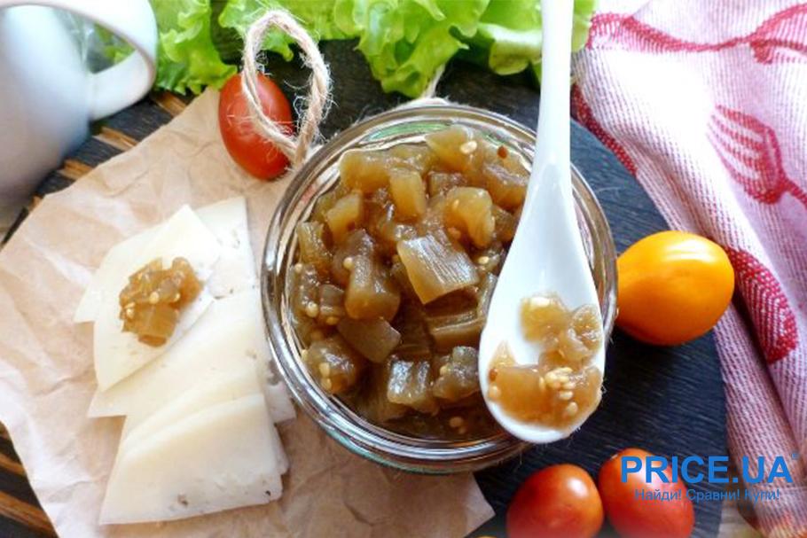 8 необычных рецептов варений.  Мармелад из баклажанов и яблок