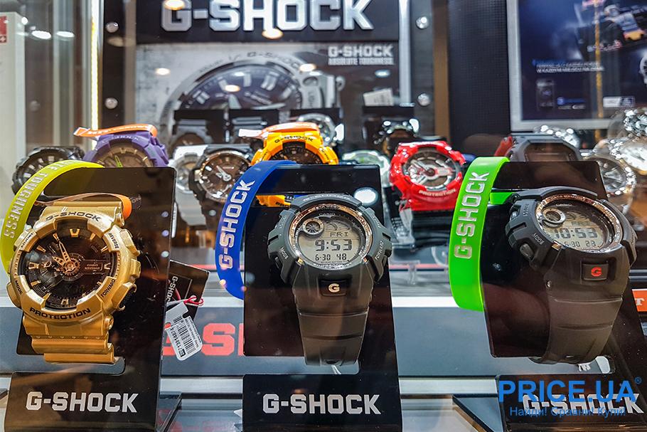Какие часы G-Shock выбрать? Обзор.