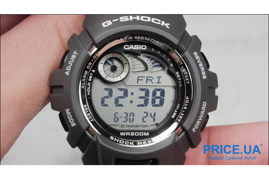 Какие часы G-Shock выбрать? G-Shock G-2900F-8V