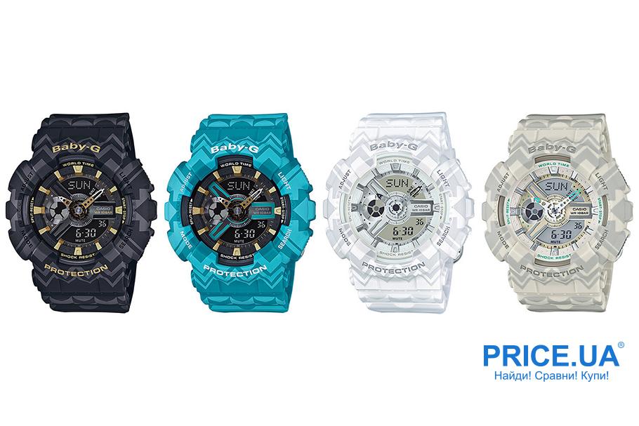 Какие часы G-Shock выбрать? G-Shock BA-110TP-7A