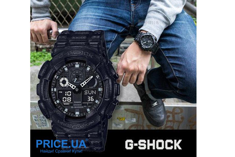 Какие часы G-Shock выбрать? G-Shock GA-100BT-1A