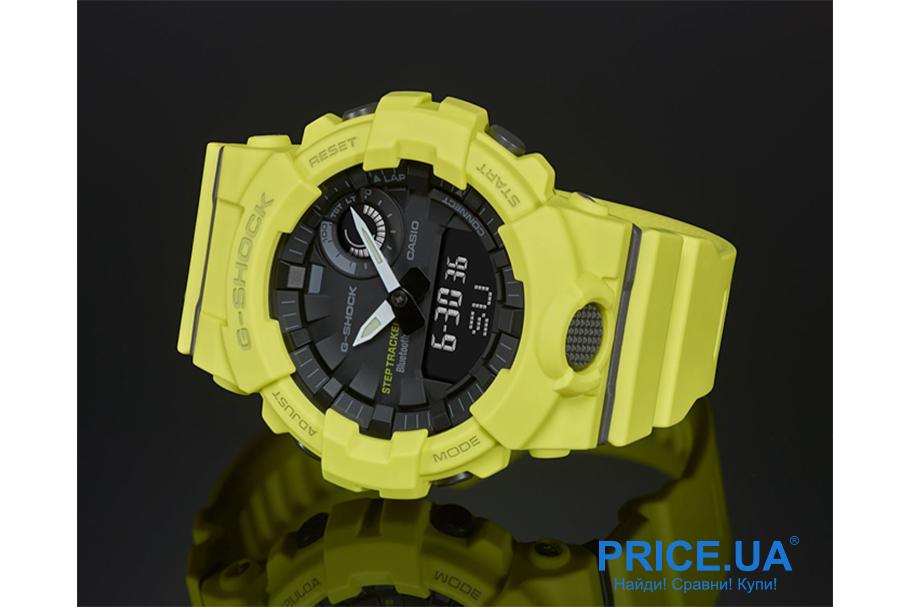 Какие часы G-Shock выбрать? G-Shock GBA-800-9A