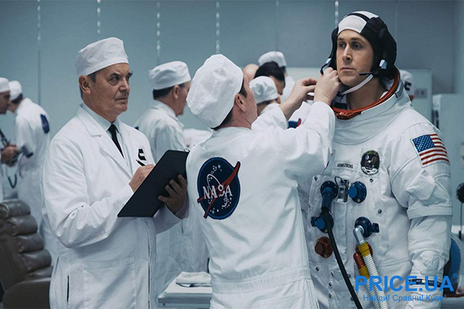 """Кинохиты о космосе. Топ лучших фильмов. """"Человек на Луне"""", 2018"""