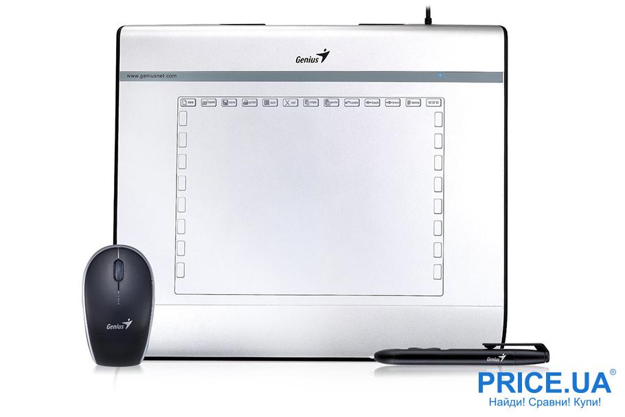 Как правильно выбрать графический планшет ребенку? Модель Genius MousePen i608X