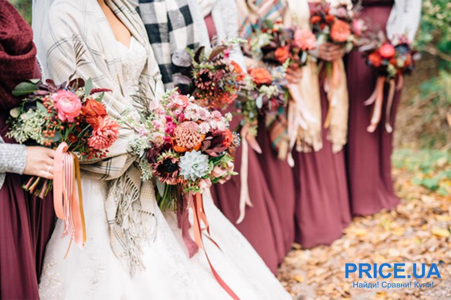 Осенняя свадьба. Советы, как оформить. Выбор цветового решения