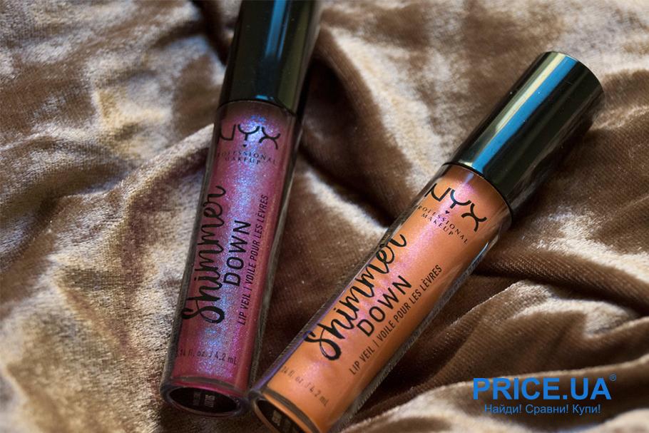 Список уходовой косметики для осени. Shimmer Down Lip Veil от NYX