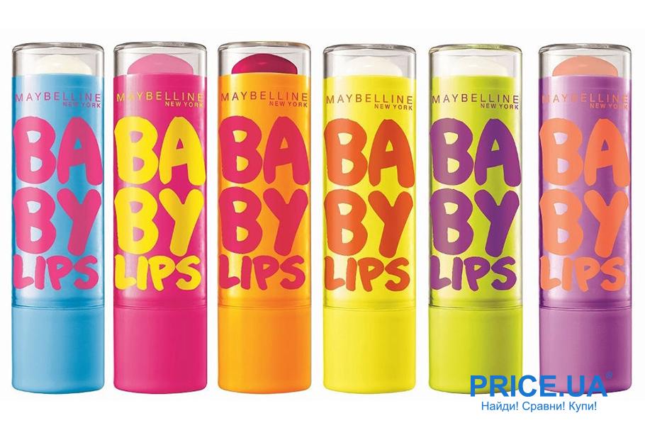 Список уходовой косметики для осени. Baby Lips от Maybelline New York