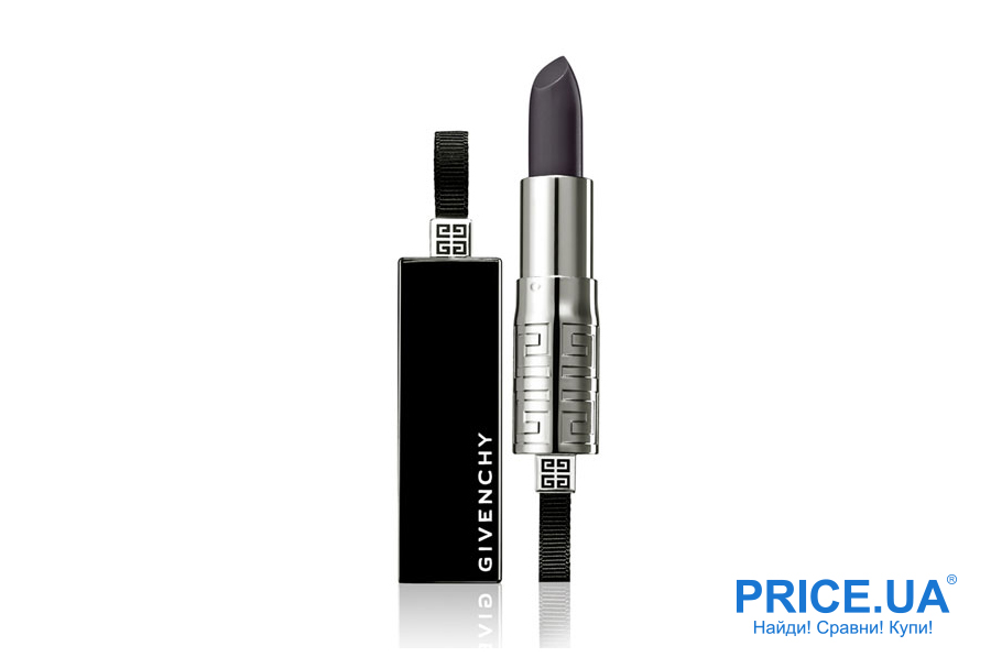 Как правильно выбрать черную помаду? Rouge Interdit Lipstick «liv'S Lips» от Givenchy