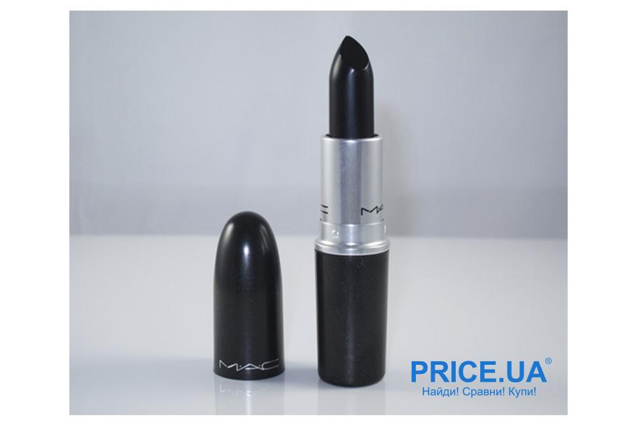 Как правильно выбрать черную помаду? Hautecore Lipstick от MAC