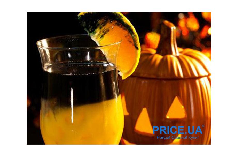 Хэллоуинские коктейли: идеи! Гниющий апельсин