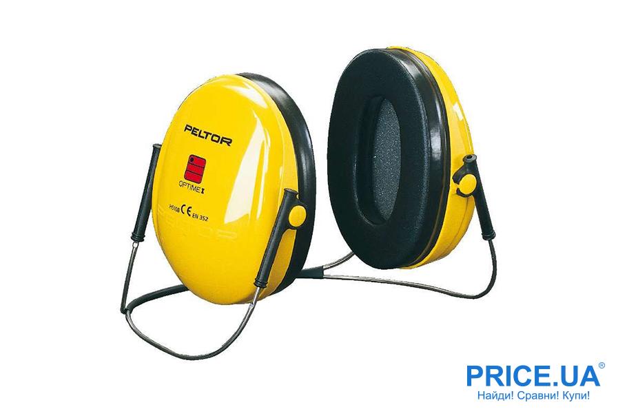Советы по выбору шумозолирующих наушников. Модель 3М Peltor Optime 1