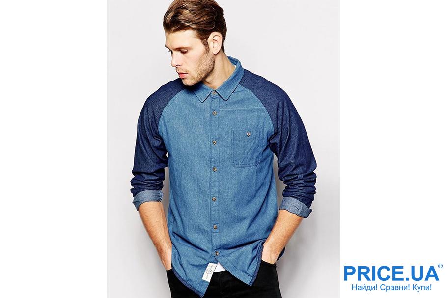 Осенние тренды мужской моды.Джинсовые рубашки