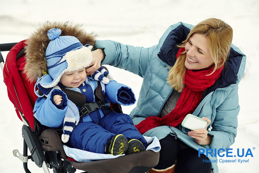 Прогулки с малышом в морозные дни: что потребуется. Одежда по погоде